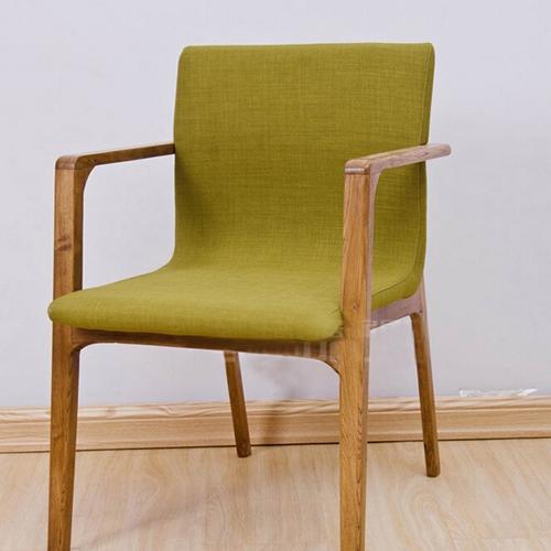 火锅店实木餐椅 现代时尚低矮靠背餐椅 简约餐桌椅子组合火锅椅