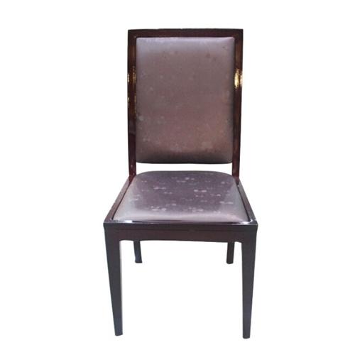 火锅店美式实木火锅桌桌椅仿古实木餐椅子私人定制椅子