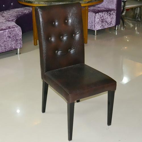 实木餐椅布艺餐桌椅实木椅子时尚简约火锅店椅子