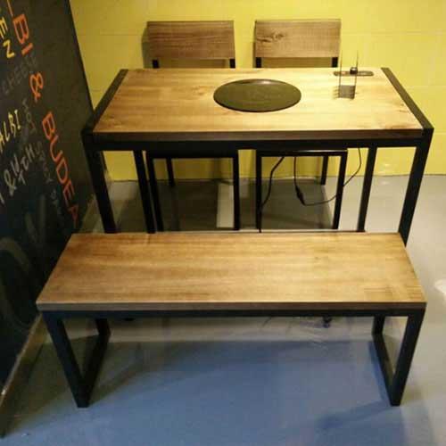 实木火锅桌厂家供应 实木火锅桌尺寸定做 松木火锅桌图片款式价格
