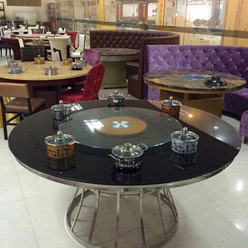 多功能电暖桌 双层八面 取暖桌 带电陶炉 遥控电暖炉暖气火锅桌