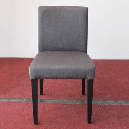 实木咖啡厅布艺拆洗矮椅子简约低背实木火锅椅