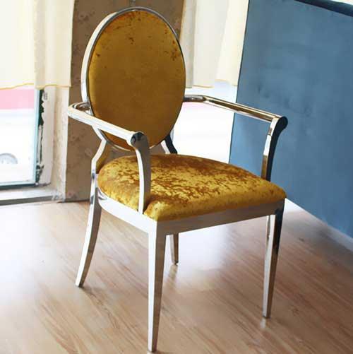 火锅店专用火锅椅子 金属火锅椅子 易清洗