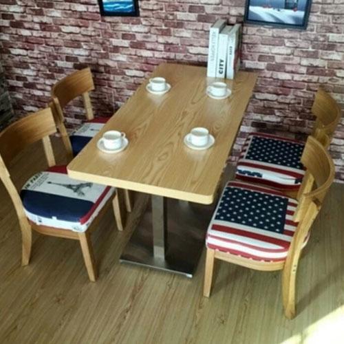 实木火锅餐椅loft做旧实木餐椅