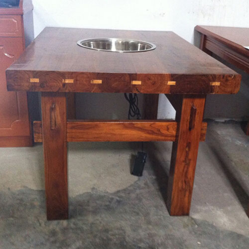 电磁火锅桌,实木火锅桌图片,方形火锅桌尺寸