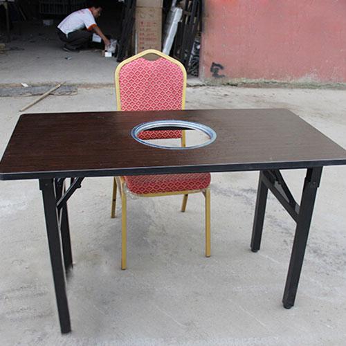 海德利家具厂家批发 火锅桌椅 火锅店桌