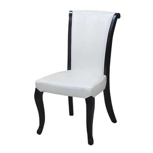 全实木餐椅 实木桌椅 靠背椅 家具橡木简约现代橡木火锅店椅子