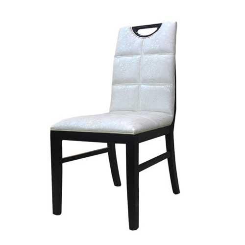 实木餐椅 牛角椅纯实木皮椅子北欧式宜家靠背椅设计师创意椅子