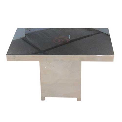 钢化玻璃火锅桌 蓉城老妈火锅桌 简约现代餐桌椅组合 创意时尚烤漆餐台饭桌