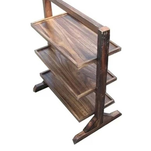 火锅店古典喷漆全实木菜架,经典高品质火锅餐厅全实木菜架