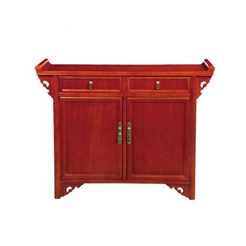 特价简约移动餐边柜 火锅店实木菜柜碗柜 日式厨房收纳储物备餐柜子