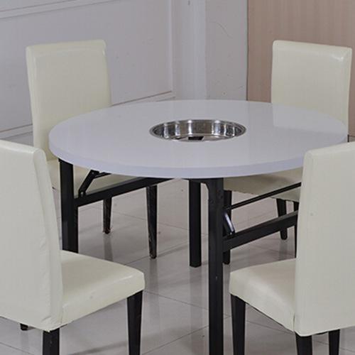 工厂直销防火板火锅桌火锅餐桌椅电磁炉煤气灶火锅桌餐桌快餐椅