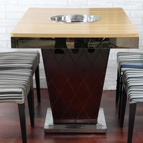 火锅桌厂家直销 火锅台 防火板火锅桌椅子 电磁炉火锅桌快餐桌椅