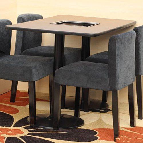 火锅桌椅厂家直销 煤气火锅桌椅 烤炉火锅桌椅 防火板火锅桌椅子