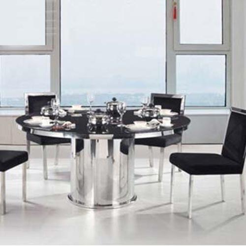 竹制餐桌椅 无烟火锅桌椅 电磁炉煤燃气