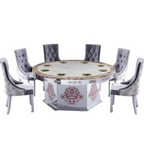 电磁炉火锅桌 无烟火锅桌椅组合 海底捞