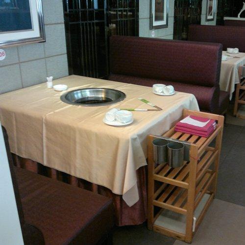 成套火锅家具组合定做,火锅桌卡座菜架组合批发,火锅店电磁炉火锅桌哪里有卖