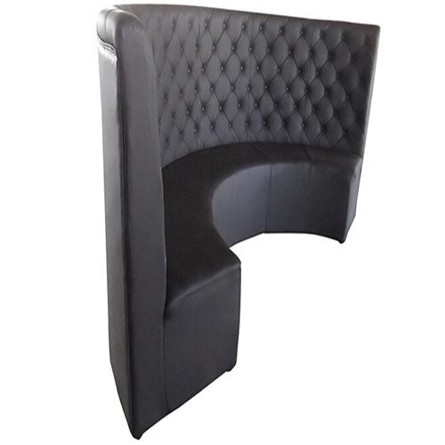 弧形卡座沙发 西餐厅沙发 火锅店弧形卡座