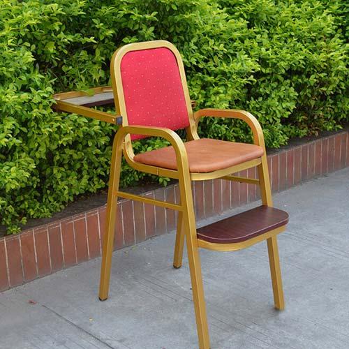 原木环保儿童餐椅座椅 可叠式BB餐椅安全座椅 火锅店时尚BB椅子