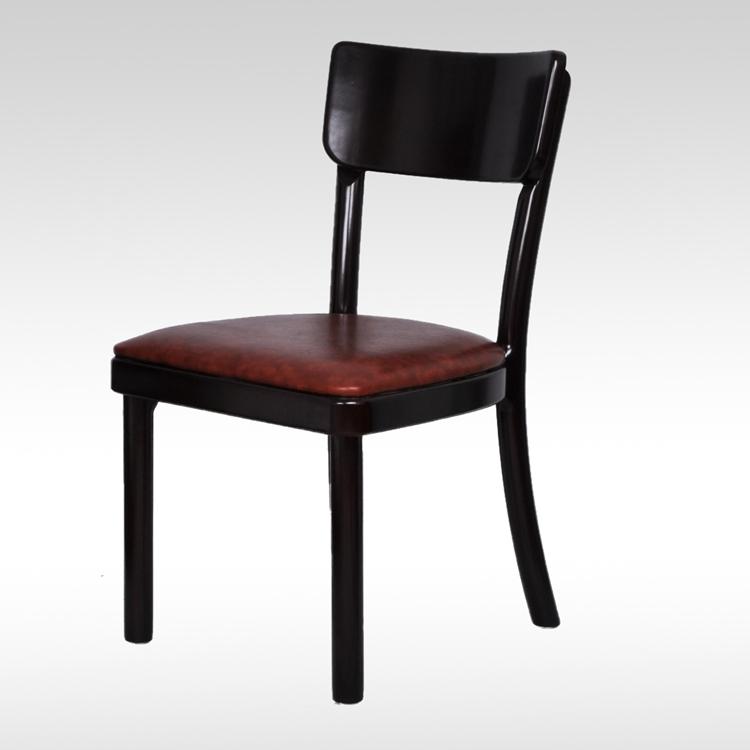 曲木饭店肯德基食堂饭店简约咖啡厅快餐桌椅 实木餐椅
