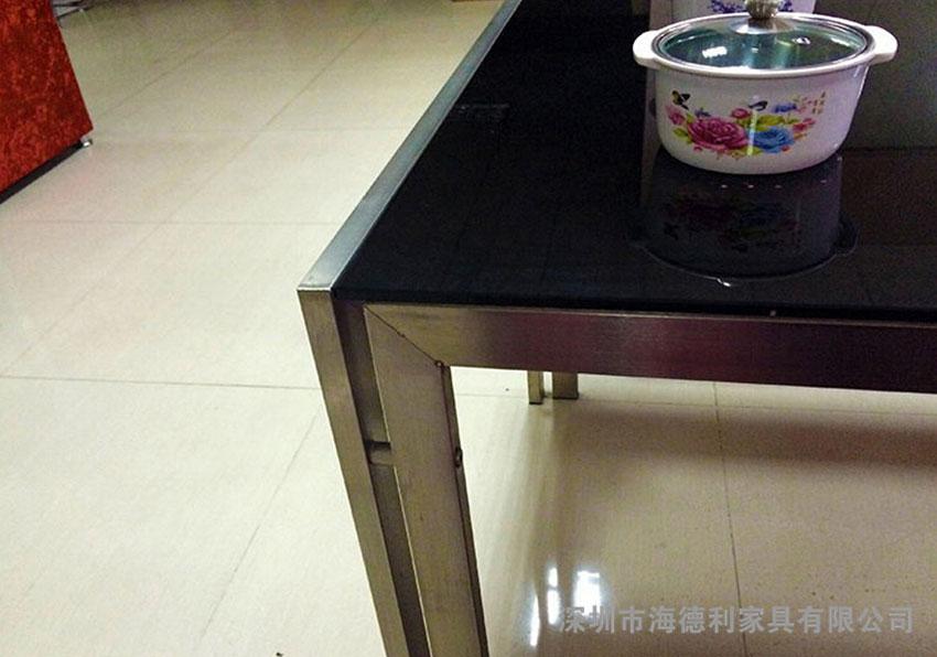 玻璃火锅桌子