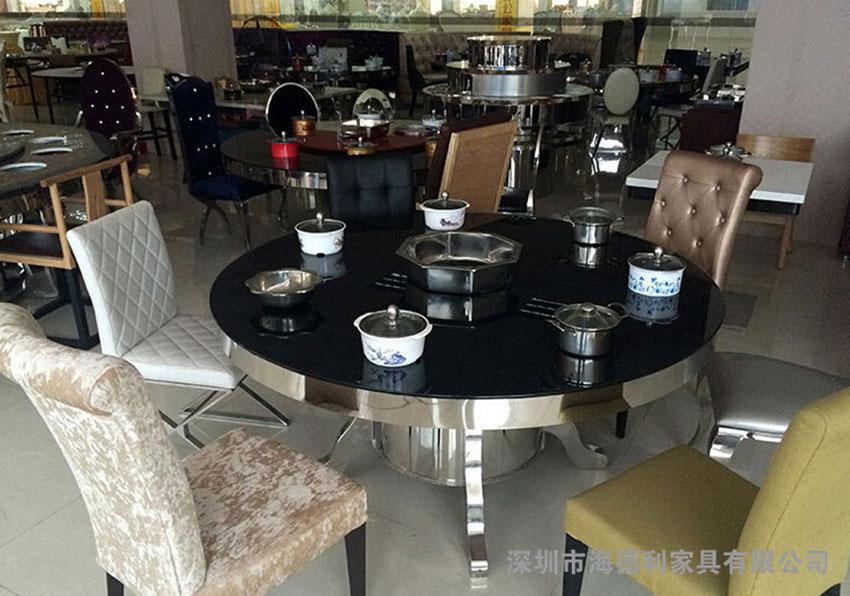 小肥羊玻璃火锅桌