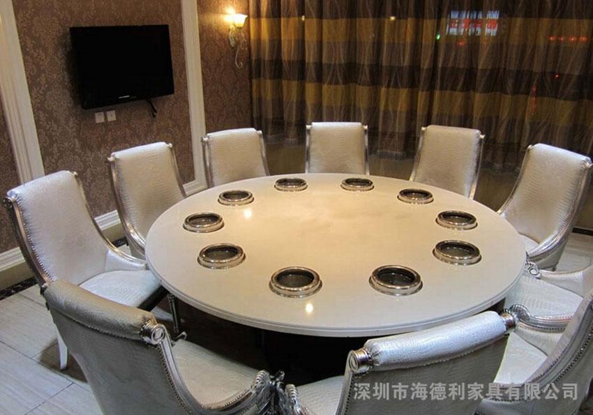 大理石圆桌