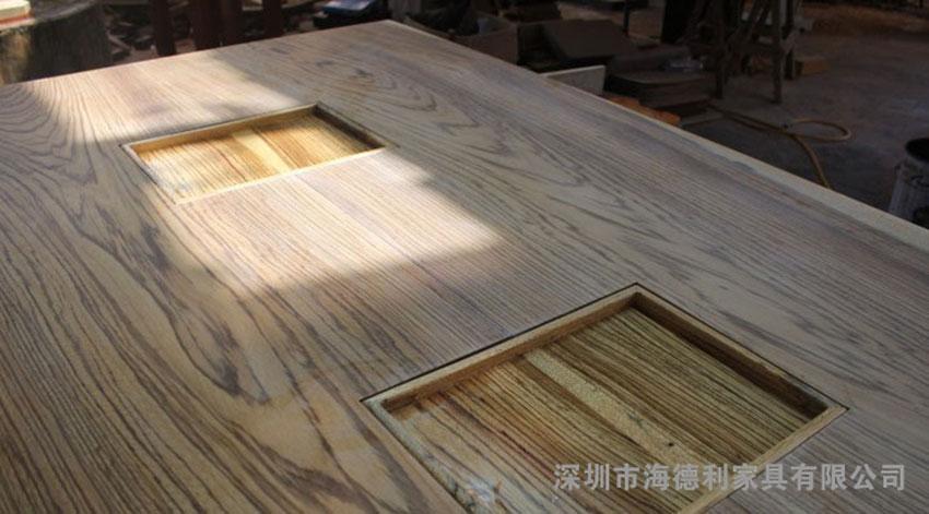 实木火锅桌子