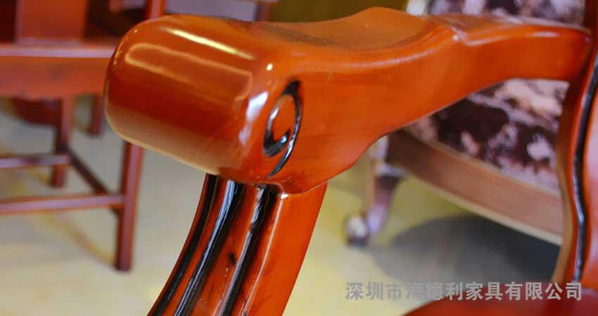 经典庄严红木火锅椅