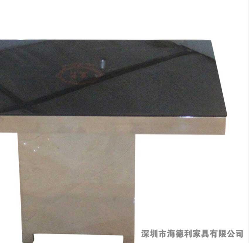 韩式休闲简约玻璃火锅桌