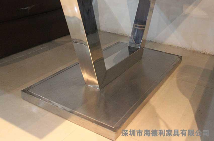 韩式简易不锈钢火锅桌
