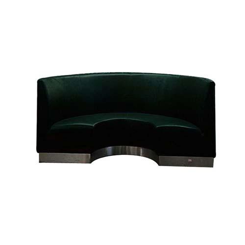弧形沙发卡座定做 厂家直销 火锅沙发批发 火锅弧形沙发价格