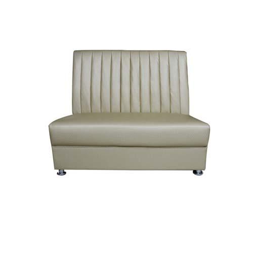 优雅皮革双人卡座厂家直销 火锅沙发尺寸定做 火锅双人沙发价格