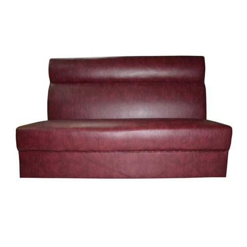 高贵皮革双人沙发卡座 双人卡座尺寸定做 双人卡座沙发海量批发
