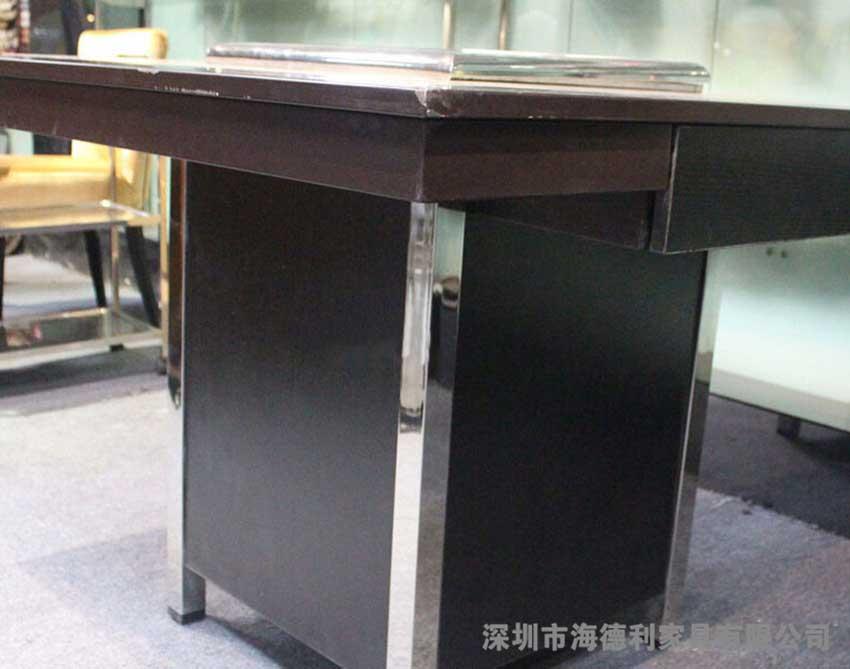 中式韩式混合制成的八仙桌