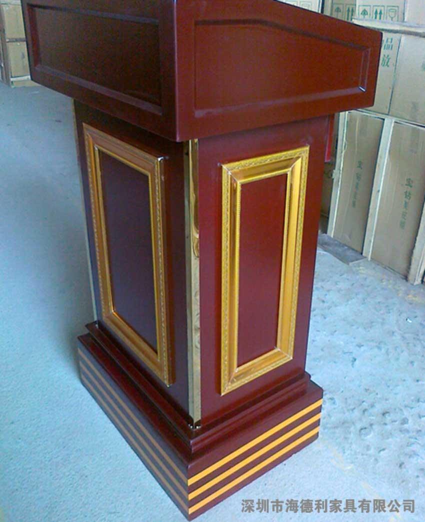 西式时尚实木迎宾台