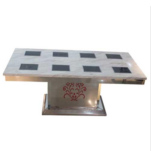 八人位不锈钢火锅桌图片价格 不锈钢火锅桌厂家直销 火锅桌尺寸定做