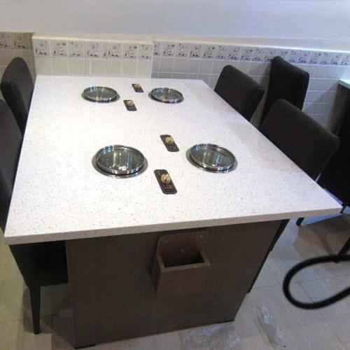 电磁炉火锅桌图片款式价格 电磁炉火锅桌批发 量大从优 电磁炉火锅桌尺寸定