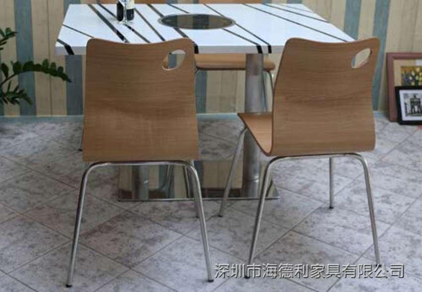 欧式棕色餐桌纹理