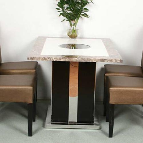 韩式电磁炉火锅桌尺寸定做 量大从优 电磁炉火锅桌图片款式价格