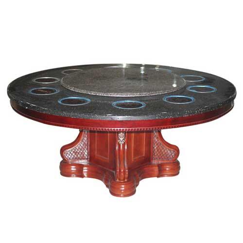 电磁炉火锅桌,大理石火锅桌,圆形火锅桌
