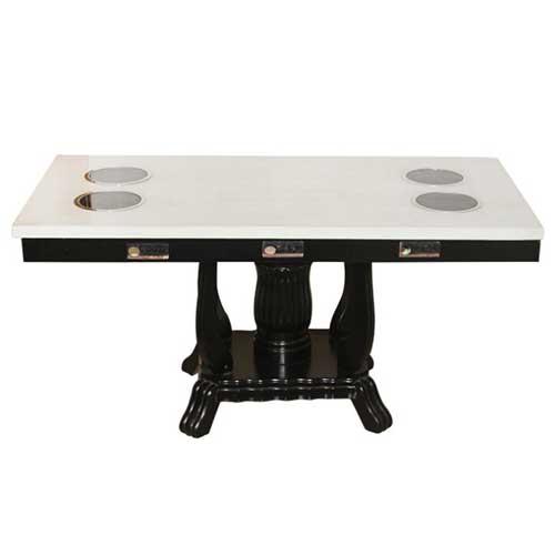 实木火锅桌尺寸定做 量大从优 深圳火锅桌图片价格