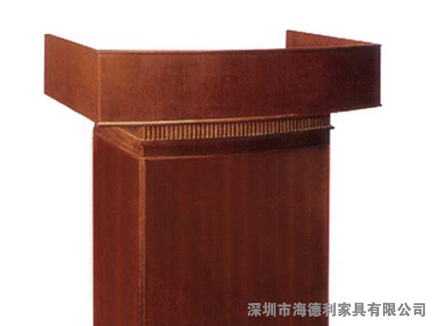 中式松木迎宾台