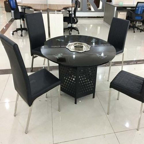 圆形火锅桌餐桌特卖,火锅桌椅厂家定做,玻璃火锅桌多少钱