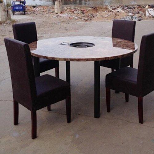 燃气火锅桌图片价格 厂家直销 火锅桌批发 量大从优 燃气火锅桌椅组合