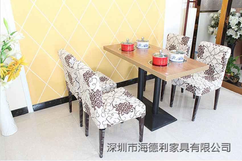 韩式休闲防火板火锅桌