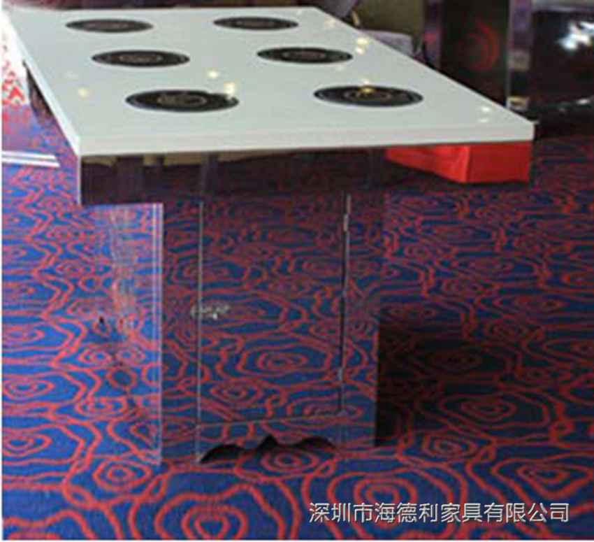 韩式不锈钢无烟火锅桌