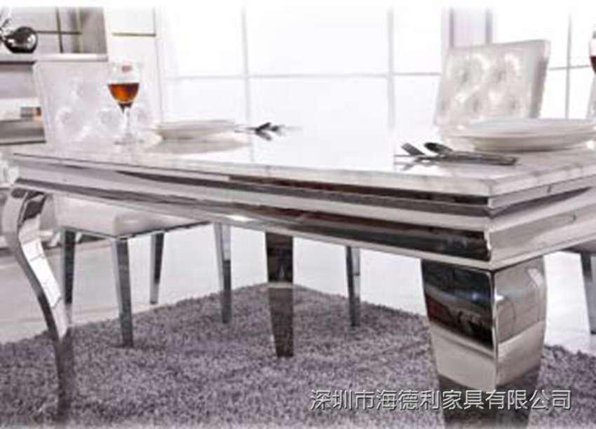 韩式简约不锈钢无烟火锅桌