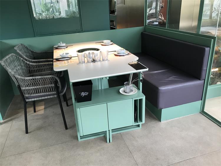 生如夏花餐厅桌椅