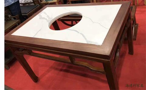 隐形电磁炉火锅桌子